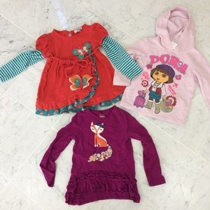 Lot Girls Size 4/5, Lot of 3 items, Rare Editions
